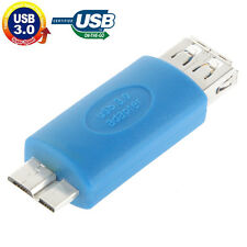 MINI ADAPTADOR CONVERSOR USB HEMBRA 3.0 A CONECTOR MICROUSB MACHO OTG ON-THE-GO