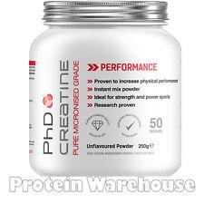Creatine Monohydrate Ultra Pure 250g 550g 1.1kg By PhD The Best Genuine Creatine