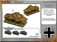 FIB WWII German Mini 15mm  Sd234/1 Pack New