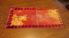 Antique Velvet Batik Table Scarf Runner 10 1/2 x 22