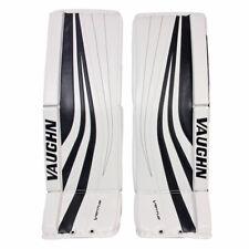 "Vaughn Slr Pro Carbon Int hockey goalie leg pads 31""+2 intermediate Ventus black"