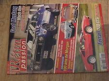 µµ Retro Passion n°215 Ford Mustang Vespa 400 Renault Floride 100 an Morgan DEHO