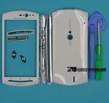 for Sony Ericsson Xperia Neo V MT11i MT15i white Housing Cover Case+Tools