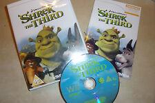 Nintendo Wii Jeu Vidéo Dreamworks Shrek le troisième + boîte d'instruction complet PAL