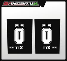 MX UPPER FORK GRAPHICS OHLINS TTX BLACK CR KX KTM YZ HUSKY TM 125 250 350 450
