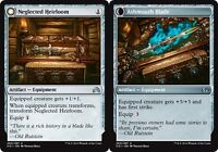MTG Magic - (U) Shadows Over Innistrad - 4x Neglected Heirloom x4 - NM/M