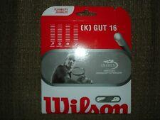 Wilson K Gut 16 Gauge Tennis Strings