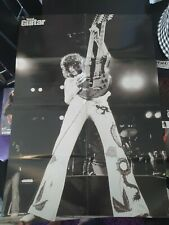 LED ZEPPELIN JIMMY PAGE Big Poster Rock