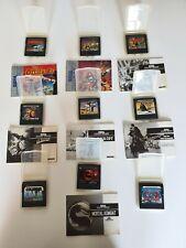 9x Sega Game Gear - Spiele Sammlung   Mortal Kombat Ninja Alien Indiana Jones AX