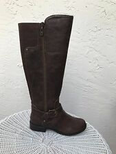 New $89  G-by-GUESS Halsey Knee High Riding Boots Brown Sz 6