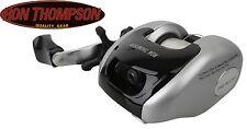Ron Thompson Pike Pro 2000, Baitcaster Multirolle + Schnur, Spinnrolle für Hecht