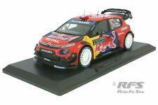 Citroen C3 WRC Ogier Winner Rallye Monte Carlo 2019 Red Bull 1:18 Norev 181645