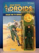 STAR WARS DROIDS 1985 A-Wing Pilot UNPUNCHED MOC