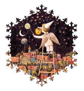 Wooden Jigsaw puzzles  If the stars light up 95pcs Artist Olya Grebennik NEW