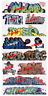Blair Line (HO-Scale) #2259 Graffiti Decals - Mega Set #10