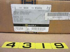 SQUARE D SY/MAX DIGITAL I/O INPUT MODULE RIM331 8030 SERIES G2  32 INPUT