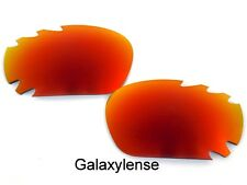 Galaxy Replacement Lenses for Oakley Racing Jacket Fire Red Polarized 100%UVA&VB