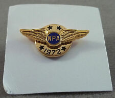 Vintage ( NPA ) National Pilots Association Tie Tac From 1972 - NOS Pin