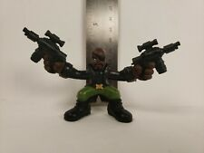"Nick Fury W/ Two Guns 2011 Hasbro Marvel 2.5"" Inch Mini Figure"