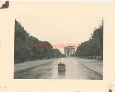 Foto, wenig Verkehr in Paris 1940 (N)20067