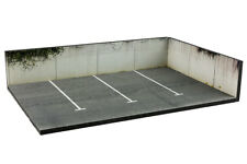 Diorama présentoir parking / parking lot - 1/43ème - #43-3-AK-AL-AM-001