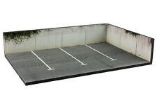 Diorama présentoir parking / parking lot - 1/43ème - #43-3-AK-AL-AM-001