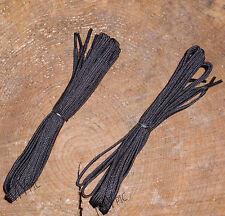 "Combat Boot Laces 2 Pairs Black – Long 60"" / 152cm UK British Army BOOTS Shoe"