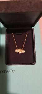 Tiffany Firefly Pendent Neckalace Gold