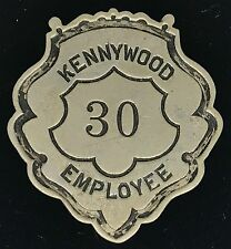 Vintage KENNYWOOD Employee Badge . CUNNINGHAM HGH PA Badge