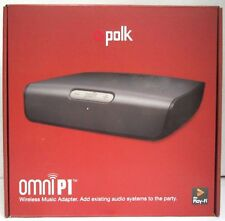 NEW Polk Audio Omni P1 Wireless WiFi Music Adapter Home Multi-room Streaming