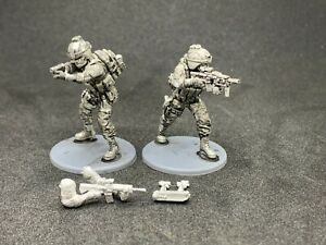 Austin Miniatures 28mm US Marine Grenadier and NCO