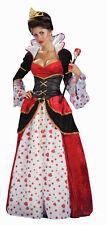 Queen of Hearts Adult Costume Standard Size NEW Alice in Wonderland