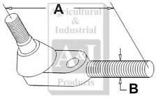 A-192863M1 Massey Ferguson Parts TIE ROD END RH 150, 165, 50 , 65