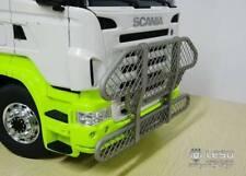 Lesu 1:14 RC truck full metal Scania bull bar with mesh option2.G-6104-C1 Tamiya