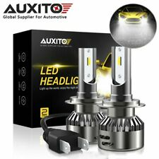 AUXITO H7 CSP LED Headlight Bulb High Low Beam 6000K HID White Super Bright