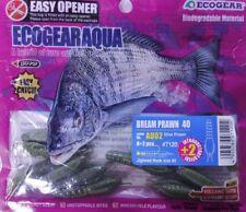 Ecogear Aqua Bream Prawn Size 40mm and 50mm * Postage* 50 Olive Prawn