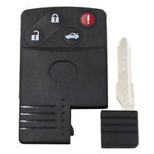 Smart Card Remote Key Shell for MAZDA 5 6 CX-7 CX-9 RX8 Miata Replacement 4 BTN
