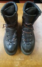 NEW Guidi HIKING boots GREEN BISON FULL GRAIN 11 11.5 , A1923 Augusta NORWEGIAN