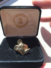 14k Gold Disney Mickey Mouse Ring NEW w/original box and packaging size 9