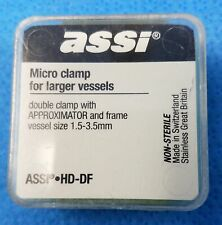 ASSI HD-DF Micro Clamp, Double Clamp with Approximator and Frame