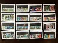 MINT BERMUDA STAMP LOT IN GLASSINES, SETS AND SHORT SETS
