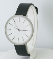 Skagen Women's Karolina Green Leather Watch SKW2724, New