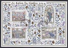 France Bloc Feuillet  N°BF135  /2014 Salon du timbre oblitéré