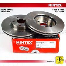 2X MINTEX FRONT DISC BRAKES MDC1802 TOYOTA AVENSIS 2.2 D-4D/D-CAT COROLLA VERSO