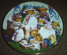 Teddy Bear Birthday Party Franklin Mint Porcelain Plate By C. Lawson Limited Ed.