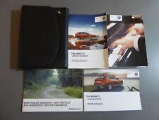 BMW X1 E84 2012-2015 HANDBOOK OWNERS MANUAL & WALLET PRINT 2012 GENUINE