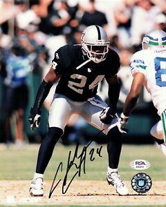 Charles Woodson Oakland Raiders Signed Autograph 8 x 10 Photo PSA DNA AI34757