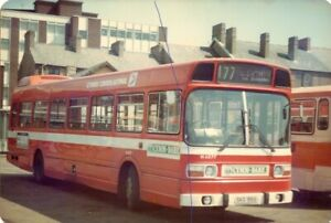BUS PHOTO NATIONAL WELSH LEYLAND NATIONAL PHOTOGRAPH N4277 PICTURE SKG915S NBC.