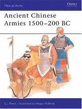 Men-At-Arms: Ancient Chinese Armies 1500-200 BC 218 by C. J. Peers (1990, Paperb