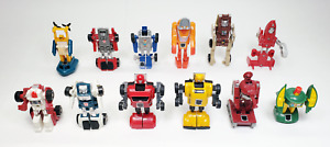 Transformers G1 Minibots Lot of 12 - Bumblebee Cliffjumper Cosmos + More Vintage